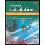PHARMACY CALCULATIONS FOR TECH N/A 9780763834630 Front Cover