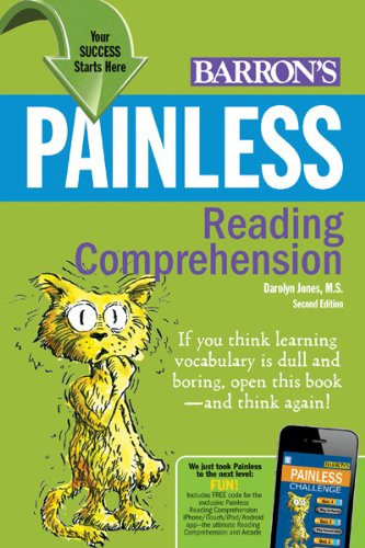 Painless Reading Comprehension  2nd 2012 (Revised) edition cover