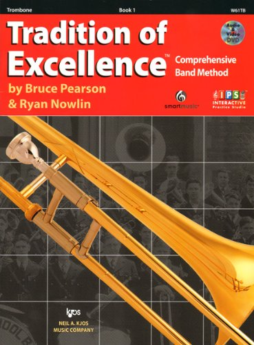 TRAD.OF EXCELLENCE,BK.1:TROMBO N/A edition cover