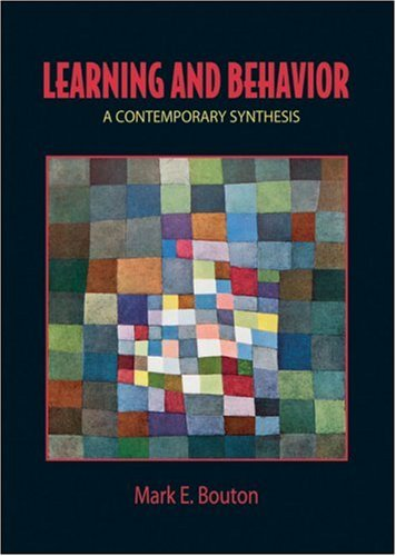 Learning and Behavior A Contemporary Synthesis  2007 edition cover