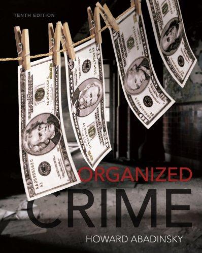 Organized Crime  10th 2013 edition cover