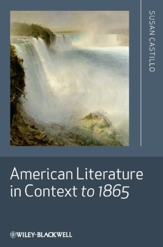 American Literature in Context to 1865   2010 edition cover