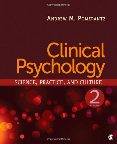 Clinical Psychology Science, Practice, and Culture 2nd 2011 edition cover