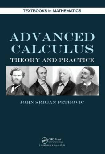 Advanced Calculas Theory and Practice  2013 edition cover