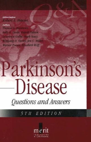 Parkinson's Disease 5th 2006 edition cover