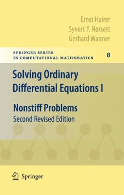 Solving Ordinary Differential Equations I Nonstiff Problems 2nd 1993 edition cover