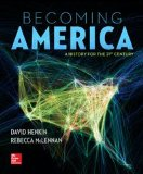 Becoming America:  1st 2014 edition cover