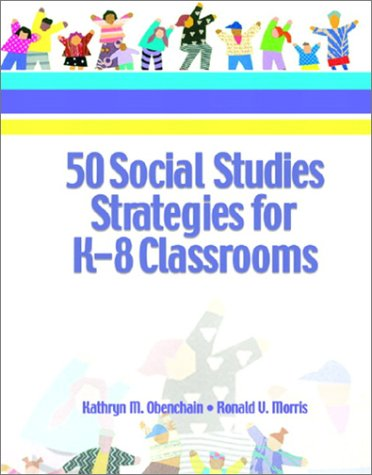 50 Social Studies Strategies for K-8 Classrooms   2003 edition cover