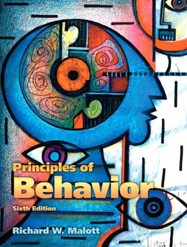 Principles of Behavior  6th 2008 edition cover