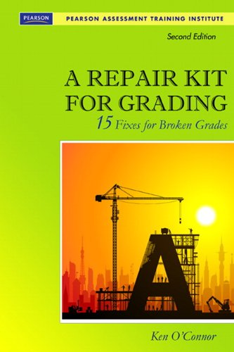 Repair Kit for Grading 15 Fixes for Broken Grades 2nd 2011 edition cover