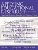 APPLYING EDUCATIONAL RESEARCH  N/A edition cover