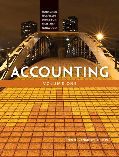 Accounting, Chapters 1-23  9th 2014 9780133098631 Front Cover