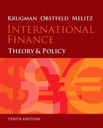 International Finance Theory and Policy 10th 2015 edition cover