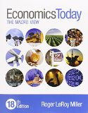 Economics Today The Macro View Plus MyEconLab with Pearson EText -- Access Card Package 18th 2016 edition cover