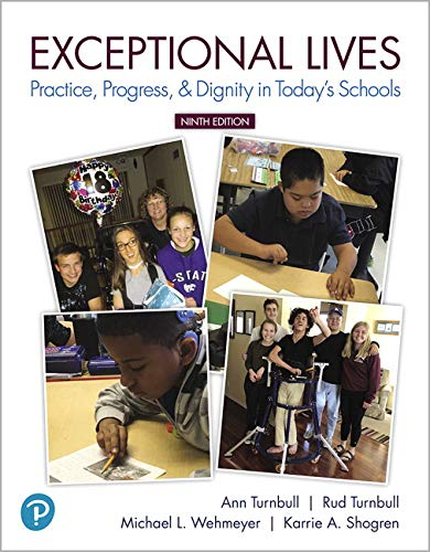 Exceptional Lives: Practice, Progress, & Dignity in Today's Schools Plus Mylab Education With Pearson Etext -- Access Card Package  2019 9780134893631 Front Cover