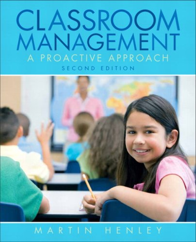Classroom Management A Proactive Approach 2nd 2010 edition cover