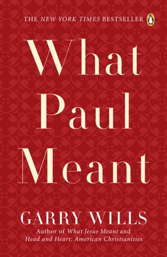 What Paul Meant  N/A edition cover