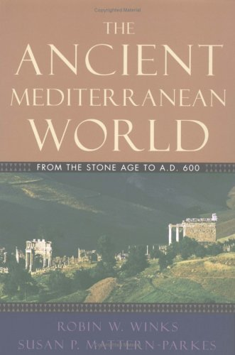 Ancient Mediterranean World From the Stone Age to A. D. 600  2004 edition cover