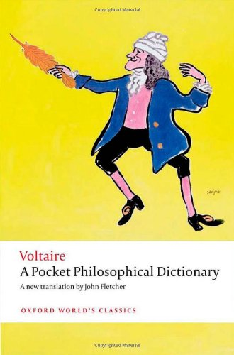 Pocket Philosophical Dictionary   2011 edition cover