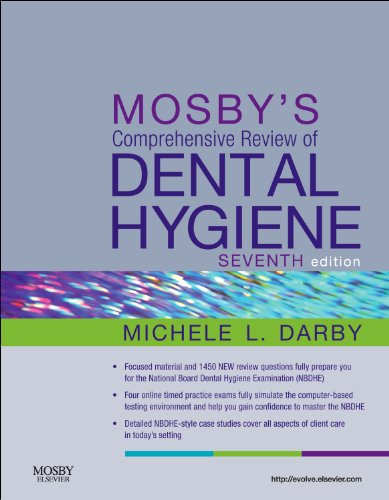 Mosby's Comprehensive Review of Dental Hygiene  7th 2012 edition cover