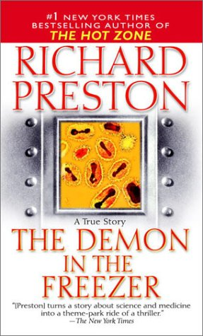 Demon in the Freezer A True Story  2002 edition cover