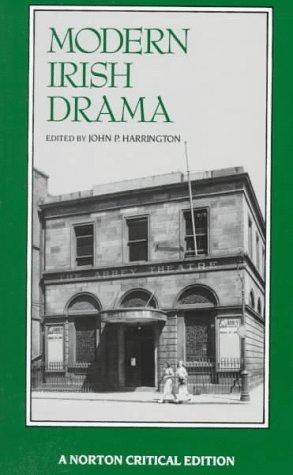Modern Irish Drama   1991 9780393960631 Front Cover