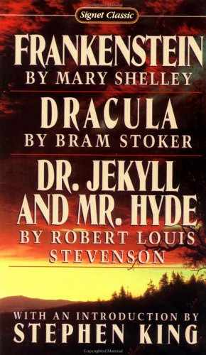 Frankenstein; Dracula; Dr. Jekyll and Mr. Hyde   1978 edition cover
