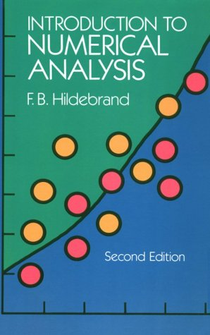 Introduction to Numerical Analysis  2nd (Revised) edition cover