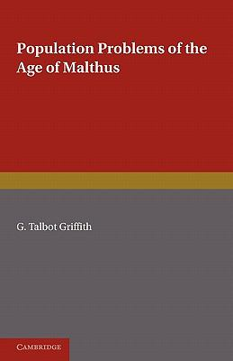 Population Problems of the Age of Malthus   2010 9780521178631 Front Cover