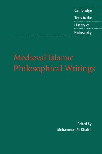 Medieval Islamic Philosophical Writings   2004 edition cover