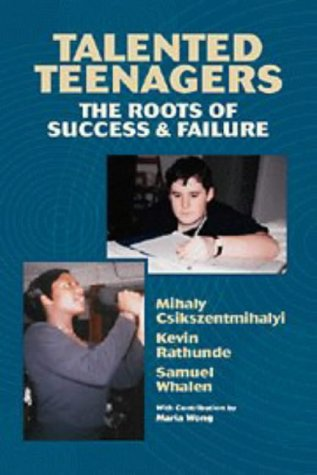 Talented Teenagers The Roots of Success and Failure  1997 edition cover