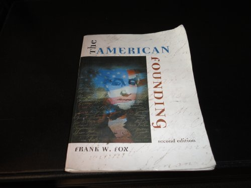 AMERICAN FOUNDING >CUSTOM<     N/A edition cover