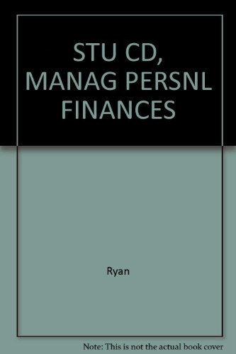 Managing Your Personal Finance  4th 2002 9780538699631 Front Cover