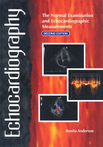Echocardiography The Normal Examination and Echocardiographic Measurements 2nd 2007 (Revised) edition cover