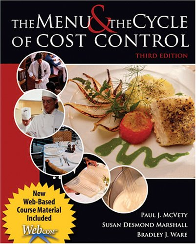 MENU+CYCLE OF COST CONTROL     N/A 9780757520631 Front Cover