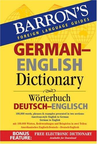 German-English Dictionary W�rterbuch Deutsch-Englisch N/A edition cover