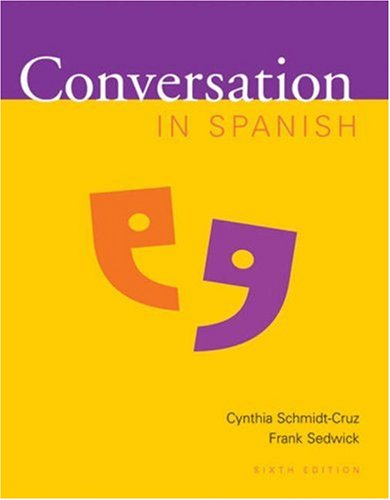 Conversation in Spanish Points of Departure 6th 2001 (Revised) edition cover