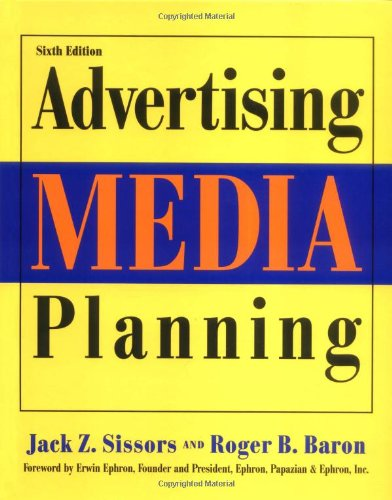 Advertising Media Planning  6th 2002 (Revised) edition cover