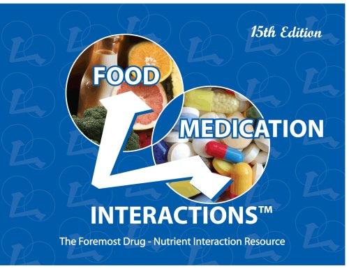 Food Medication Interactions: 5th 2008 edition cover