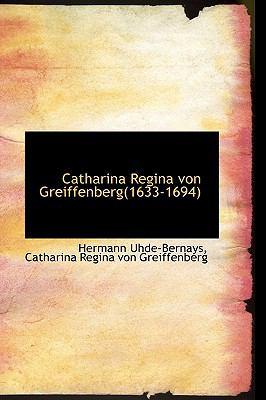 Catharina Regina Von Greiffenberg(1633-1694):   2009 edition cover