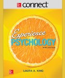 Connect Access Card for Experience Psychology  3rd 2016 9781259319631 Front Cover