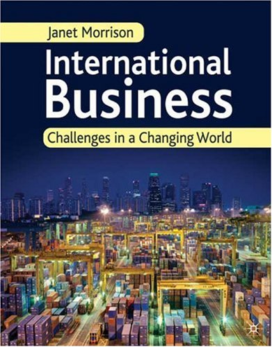 International Business Challenges in a Changing World  2009 edition cover