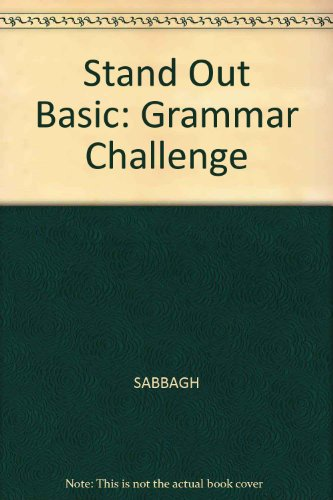 Stand Out Basic Standards Based English  2005 edition cover
