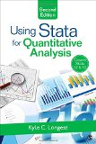 Using Stata for Quantitative Analysis  2nd 2015 edition cover