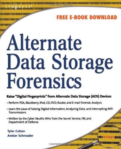 Alternate Data Storage Forensics   2007 edition cover