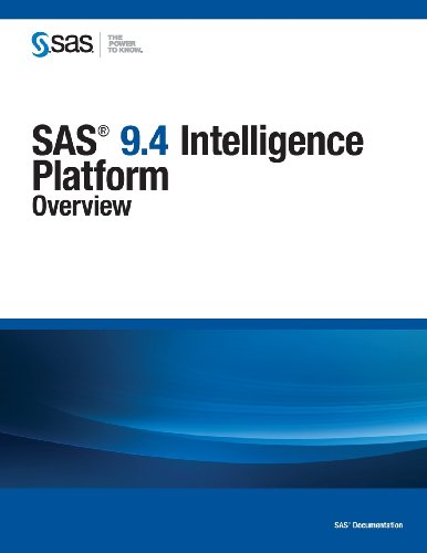 SAS 9. 4 Intelligence Platform Overview  2013 edition cover