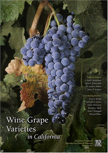 Wine Grape Varieties in California   2003 edition cover