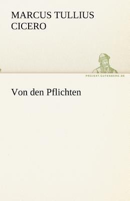 Von Den Pflichten  N/A 9783842469631 Front Cover