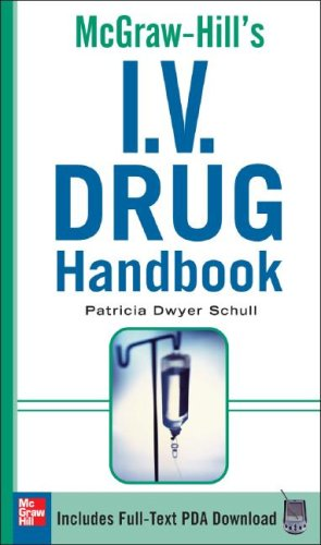 I. V. Drug   2009 (Handbook (Instructor's)) edition cover