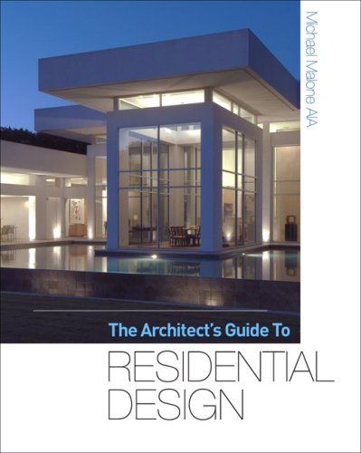 Architect's Guide to Residential Design   2010 9780071605632 Front Cover
